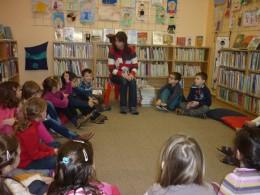 Návštěva v knihovně