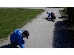 Malování na chodník