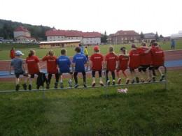 Meziboří - Přebor jednotlivců Ústeckého kraje ml. žactva a elévů na dráze (24.05.2014)