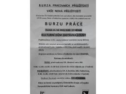BURZA PRÁCE
