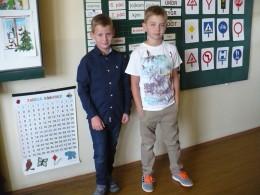 Září - První den ve třetí třídě