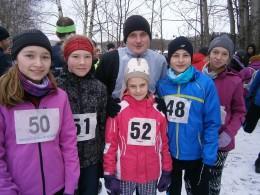 Kladno - Zimní běh Iva Domanského(16.1.2016)