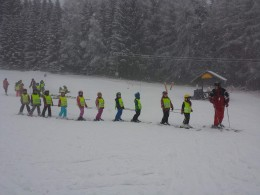 Školní lyžařský zájezd