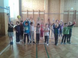 Cvičení s plyšáky