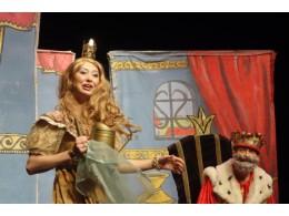 Princezna se zlatou hvězdou na čele
