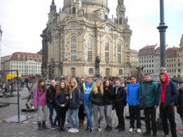Školní výlet do Drážďan