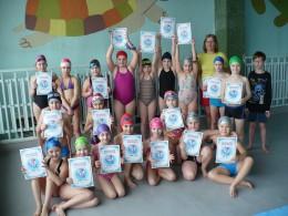 Březen  -  Výcvik plavání