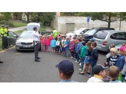 Exkurze u Dopravní policie