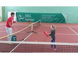Trénink tenisu