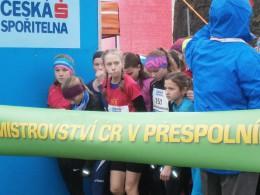 Praha - Mistrovství ČR v přespolním běhu(19.11.2016)