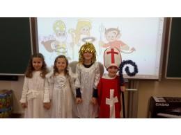 Čerti,  Mikuláš a Andílci