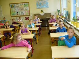Září - První den ve škole
