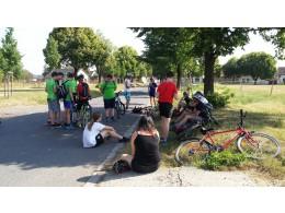 Cyklistický výlet spojený s exkurzí na letišti Raná 22. 6. 2017