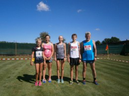 Běžci závodili ve Mšeci.