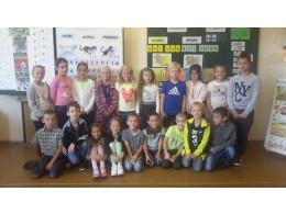 Září - První den ve 2.třídě