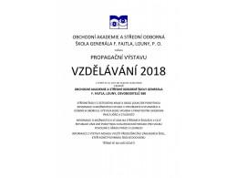 Výstava Vzdělávání 2018