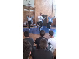 Vystoupení taneční skupiny HD ZLOUNI