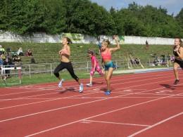 Sprinterské závody v Meziboří.