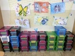Boxy ve třídě - poděkování rodičům
