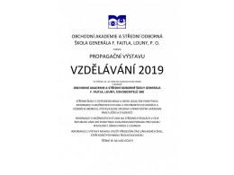 Propagační výstava Vzdělávání 2019