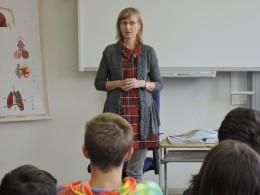 Beseda s paní spisovatelkou I. Březinovou