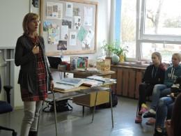 Beseda se spisovatelkou I. Březinovou