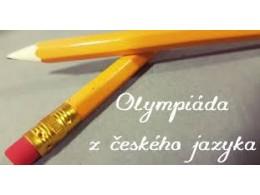 Vítězná Anetka Menzelová ve školním kole Olympiády z Čj