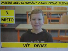 Úspěšný olympionik v anglickém jazyce