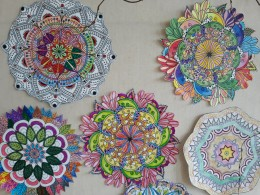 Květinové mandaly