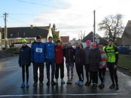 Vánoční běh ve Třticích