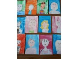 Portrét  - maluji svého kamaráda