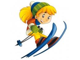 Malí lyžaři