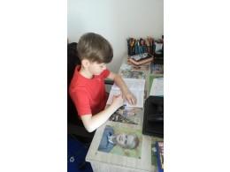 Fotografie z domácího učení