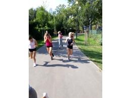 Olympijský běh aneb 8. D v pohybu