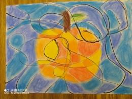 Podzim - hra s linií a barvou